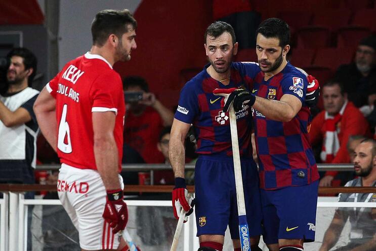 Benfica perde frente ao Barcelona na Liga Europeia de hóquei em patins