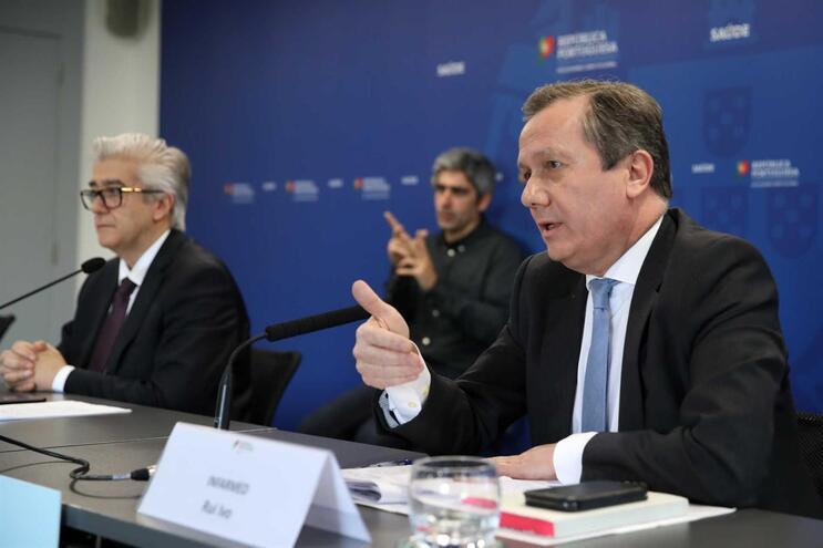 O presidente do Infarmed, Rui Ivo