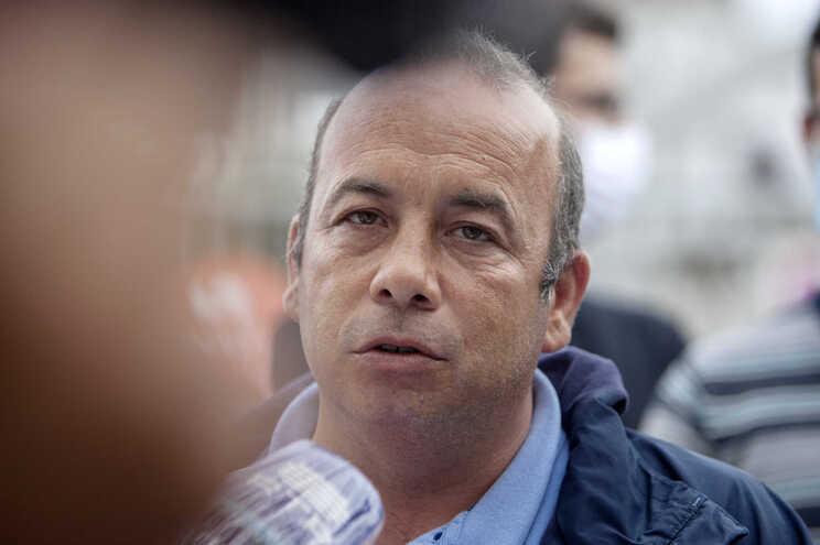 O candidato e coordenador regional do PCP/Açores, Marco Varela