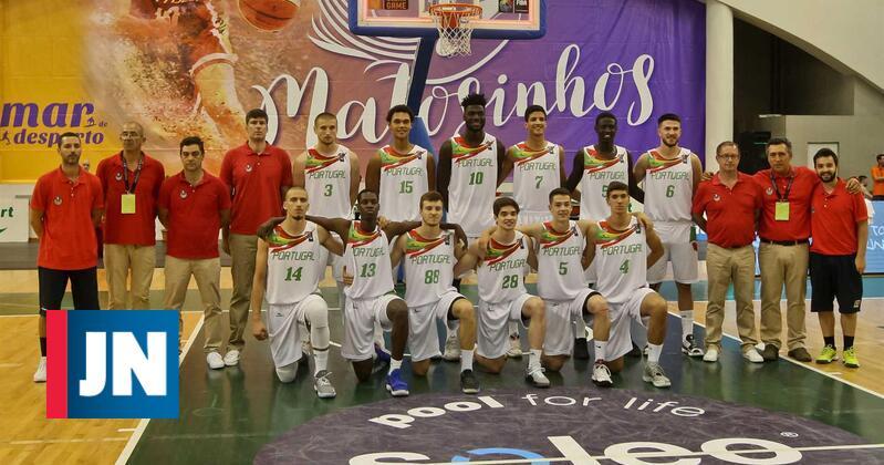 Portugal sagra-se campeão europeu de basquetebol sub-20 (divisão B)