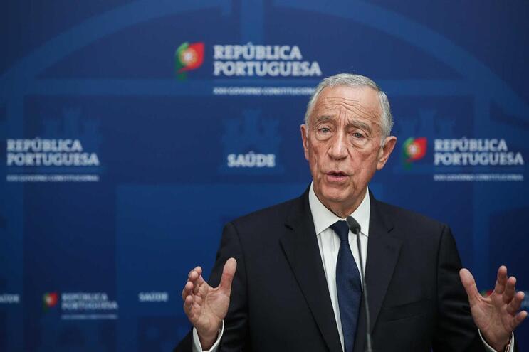 Marcelo introduziu alterações ao projeto de decreto do estado de emergência nacional