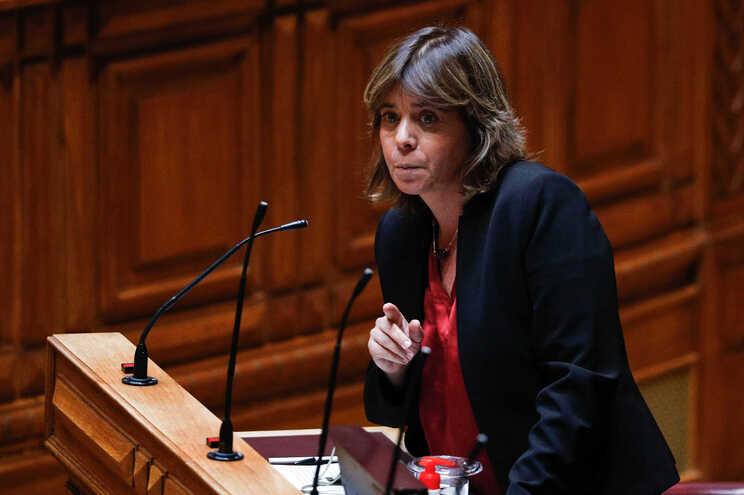 Catarina Martins, do Bloco de Esquerda