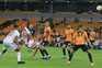 Wolverhampton venceu o Olympiacos, por 1-0, num duelo de portugueses