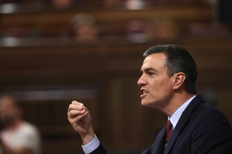 O primeiro-ministro de Espanha, Pedro Sanchez