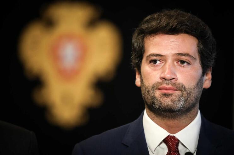 O líder do Chega, André Ventura