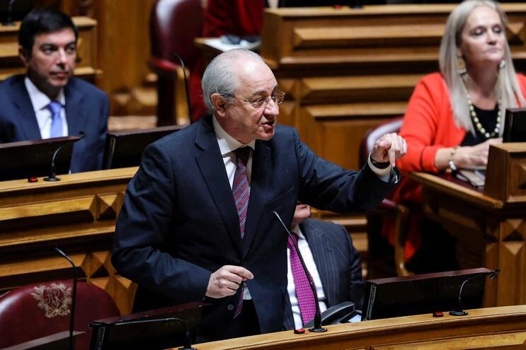 O líder parlamentar do PSD, Rui Rio