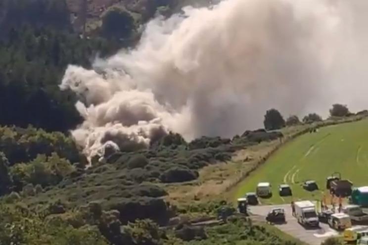 Descarrilamento de comboio faz três mortos na Escócia
