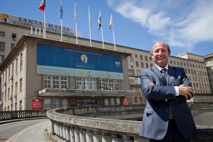Carlos Martins, administrador do Hospital de Santa Maria
