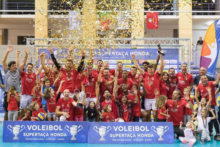 Benfica conquista Supertaça de voleibol pela oitava vez