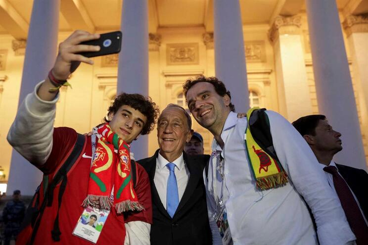 """Marcelo vê Portugal melhor """"jogo a jogo"""" e em condições de ir à final"""