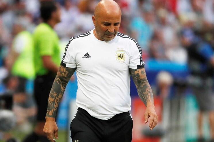 Jorge Sampaoli deixa comando da seleção argentina