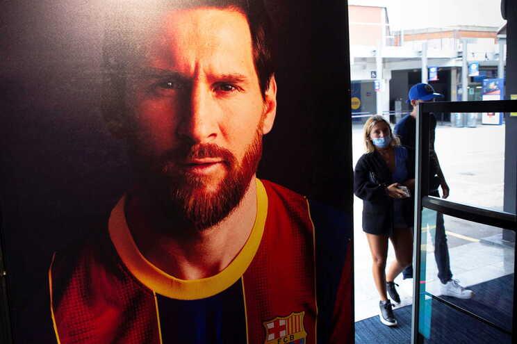 Jogador argentino quer sair do Barcelona