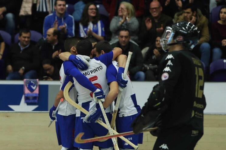 F. C. Porto na final da Taça Intercontinental de hóquei em patins