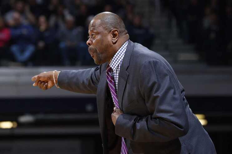 Patrick Ewing, ex-estrela da NBA, é atualmente treinador da Universidade de Georgetown