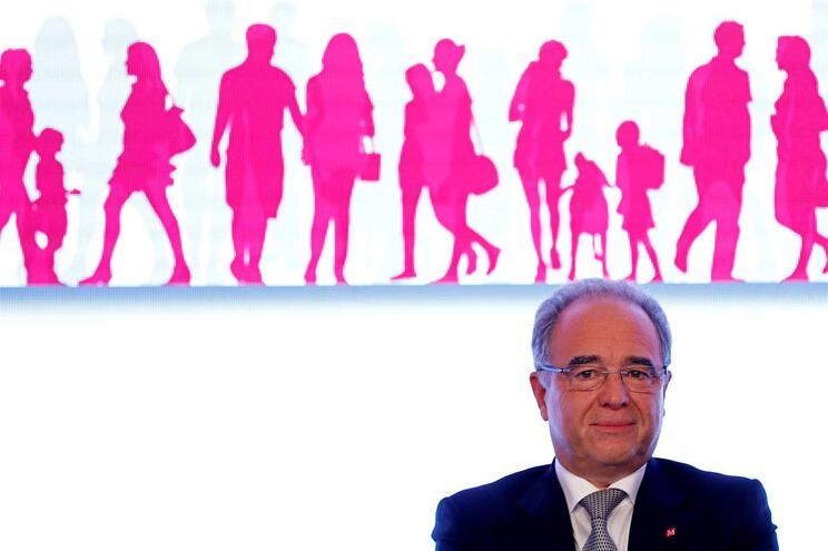 O presidente do Conselho de Administração do Millennium bcp, Nuno Amado