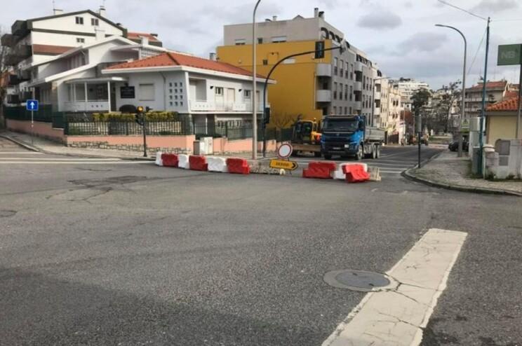 Avenida Marquês de Pombal, em Leiria, cortada durante dois meses