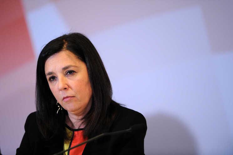 Deputada socialista Hortense Martins