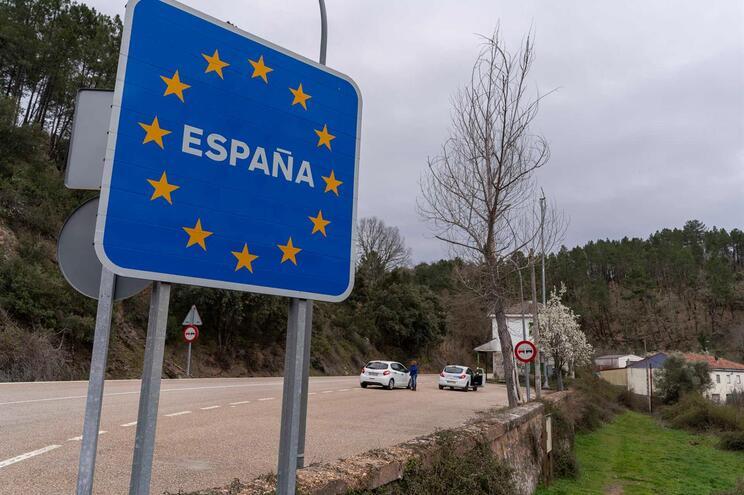 O motorista vinha de Espanha