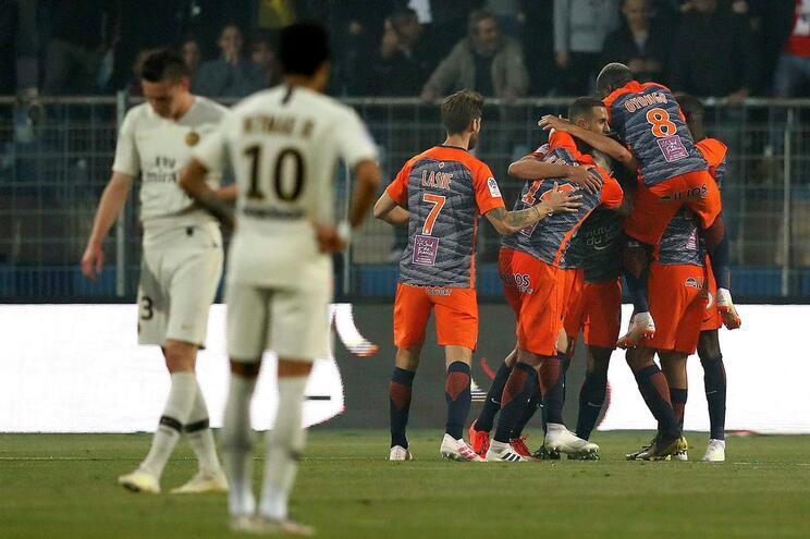 Montpellier inflige quarta derrota ao PSG e entra na luta por lugar europeu