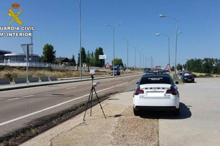 Português apanhado a conduzir a 228 km/h em Salamanca