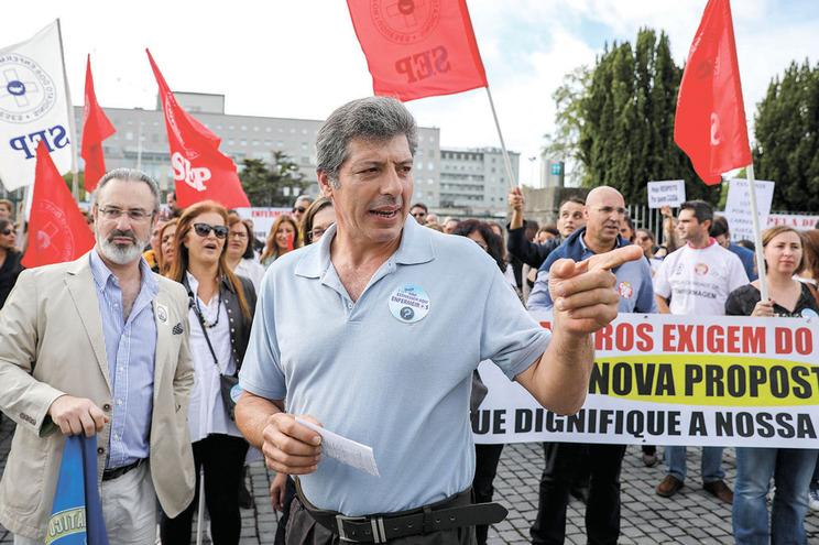 José Carlos Martins, do Sindicato dos Enfermeiros Portugueses