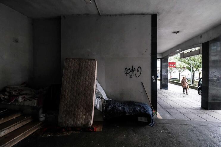 Porto tem 140 pessoas a viver na rua e 420 em alojamentos temporários