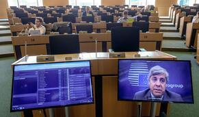 Ministros das Finanças da zona euro elegem novo presidente do Eurogrupo e outras notícias em 60 segundos