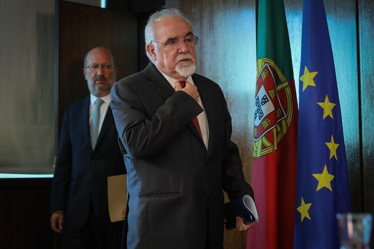 Conferência de imprensa dos ministros Vieira da Silva e Matos Fernandes