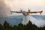 Aviões de combate a incêndios de Vila Real reposicionados em Viseu