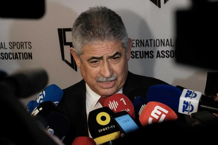 Luís Filipe Vieira foi suspenso