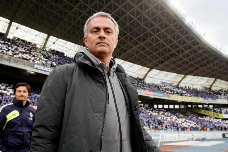 Mourinho entra diretamente na passadeira da Champions