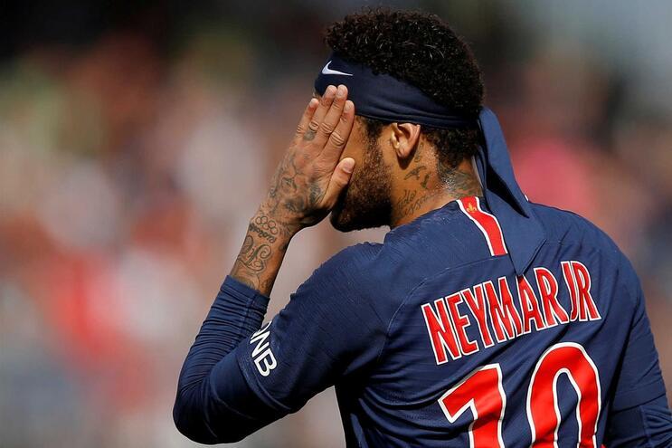 Neymar está há dois anos no Paris Saint-Germain