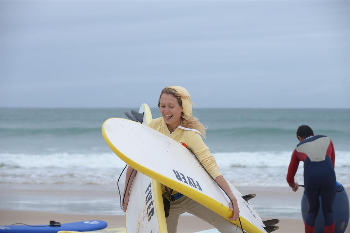 Peniche, capital do surf.