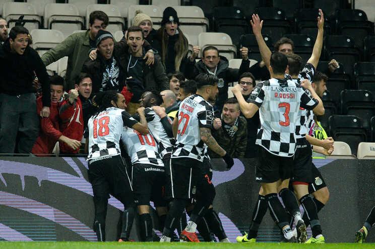 O Boavista venceu, este domingo, o V. Guimarães