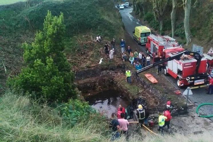 Imagem divulgada pela RTP Açores da autoria de Daniela Barbosa