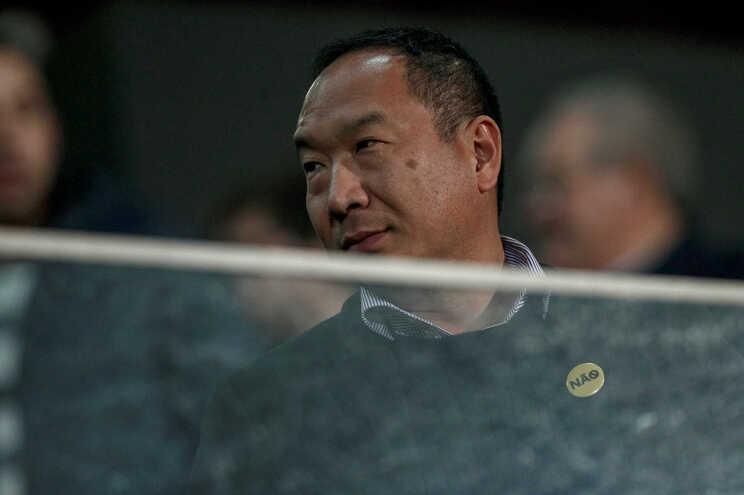 Wei Zhao, presidente da SAD do Aves