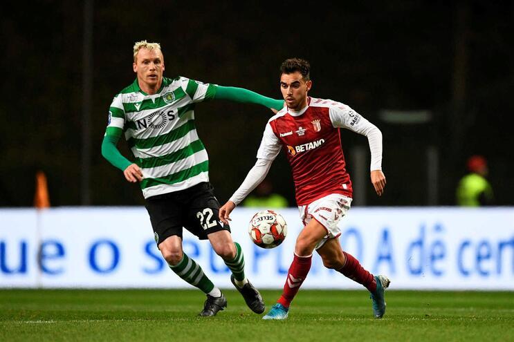 Mathieu foi expulso no encontro frente ao Braga