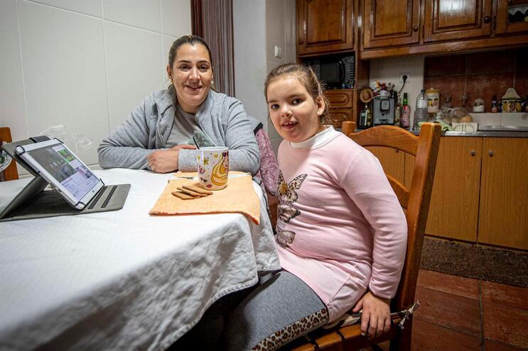 Érica Sousa com a mãe, Maria das Dores Martins Soares