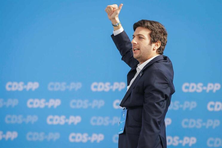Francisco Rodrigues dos Santos é o novo líder do CDS