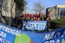 Matosinhos, 12 / 01 / 2021 - Trabalhadores da Petrogal organizaram uma  Caravana Automóvel da Refinaria