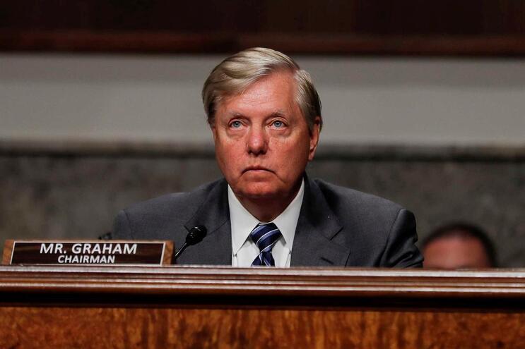 Lindsey Graham, presidente do comité judiciário do Senado
