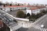 As duas parcelas de terreno que formam o quartel, situado no centro da cidade, rondam 25 mil metros