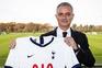 José Mourinho assinou um contrato válido até 2023