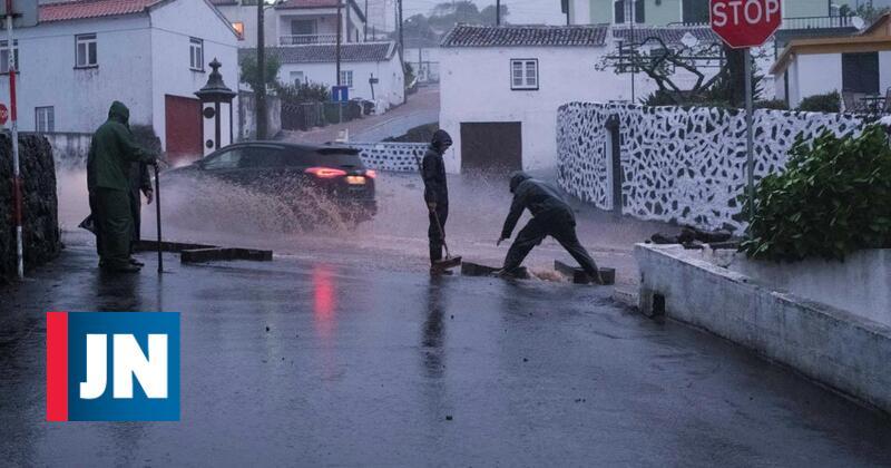 Mais de 60 ocorrências devido ao mau tempo. Porto foi o mais afetado