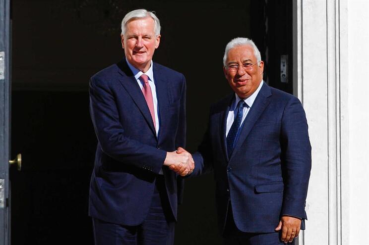 Michel Barnier (o negociador europeu para o Brexit) foi recebido por António Costa em São Bento