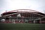 Estádio da Luz, onde decorrerá o clássico na tarde deste domingo