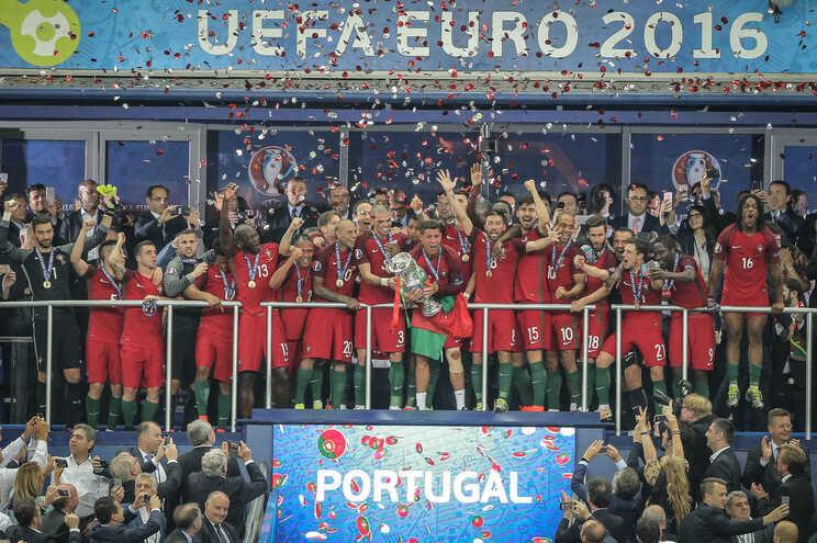 Portugal venceu a França por 1-0 na final