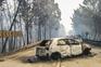 Grande incêndio de Pedrógão Grande causou 66 mortos