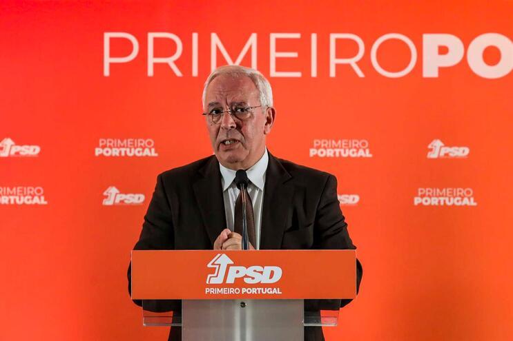 David Justino, vice-presidente do PSD