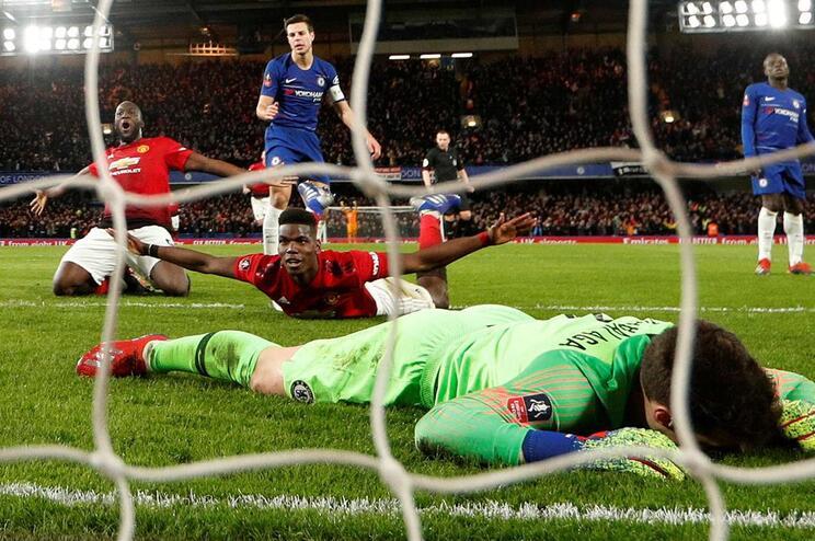 M. United venceu Chelsea